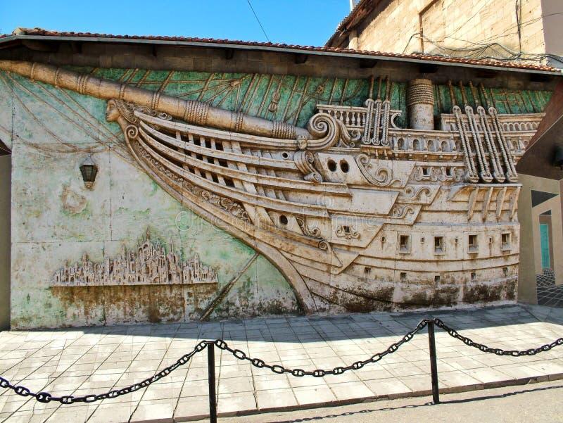 Museu da casa de Alexander Green em Feodosia imagem de stock royalty free