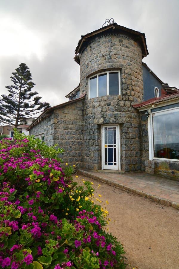 Museu da casa do de Isla Negra da casa de Pablo Neruda Isla Negra chile imagem de stock