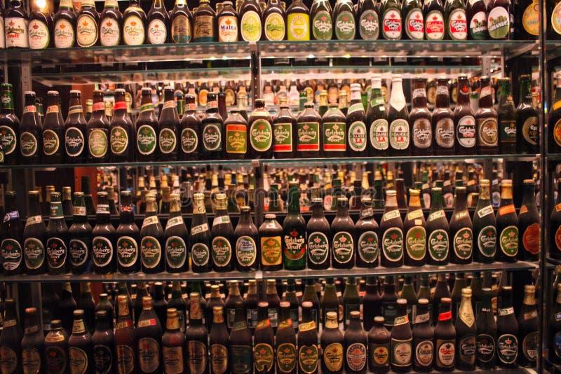 Museu da cerveja imagens de stock