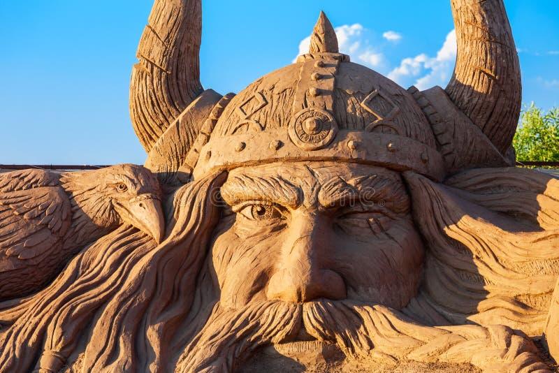 Museu da escultura da areia de Antalya Sandland foto de stock
