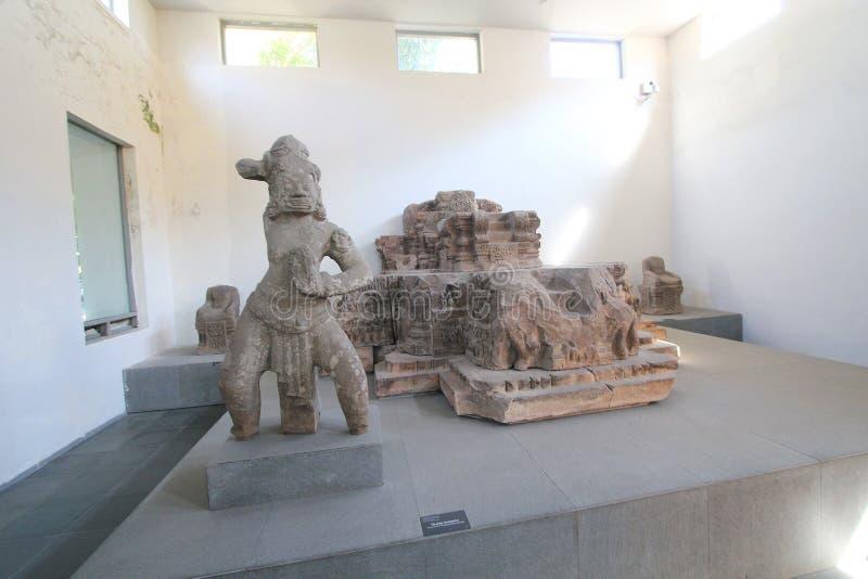 Museu da escultura do homem poderoso do Da Nang fotos de stock
