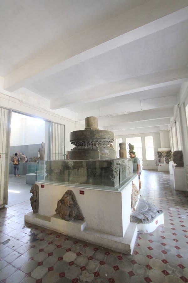 Museu da escultura do homem poderoso no Da Nang foto de stock royalty free