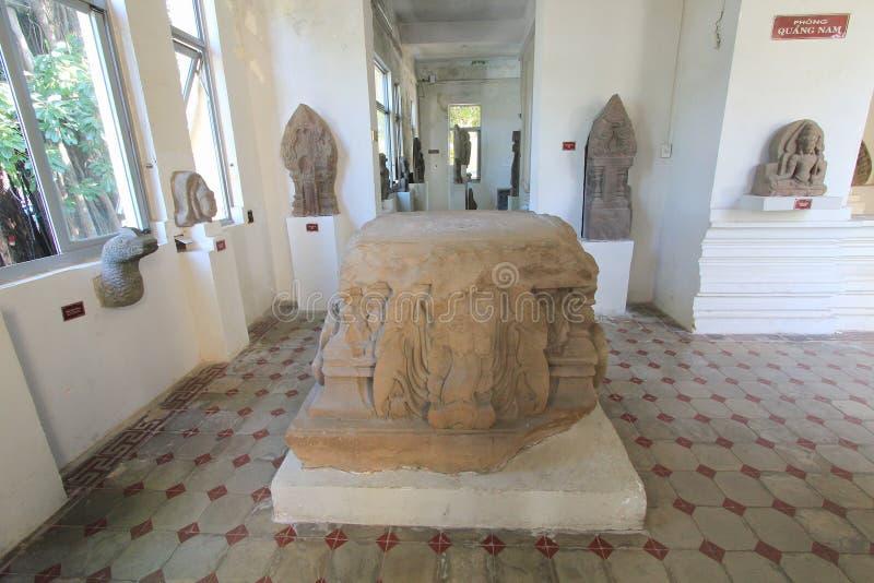 Museu da escultura do homem poderoso no Da Nang imagem de stock royalty free