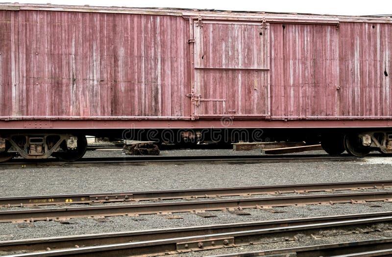 Museu da estrada de ferro de Portola fotografia de stock
