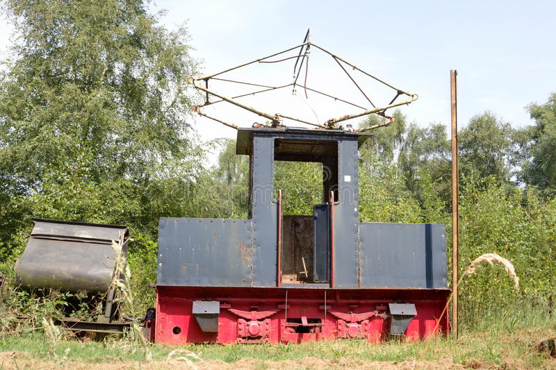 Museu da estrada de ferro em Erica, Países Baixos fotos de stock