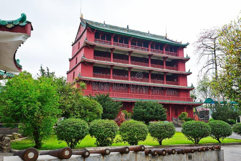 Museu da história de Guangzhou fotos de stock royalty free