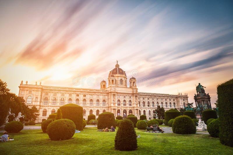 Museu da história natural Viena Áustria imagens de stock royalty free