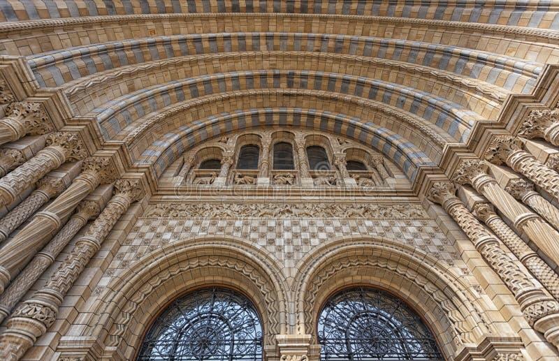 Museu da Hist?ria natural em Londres imagem de stock