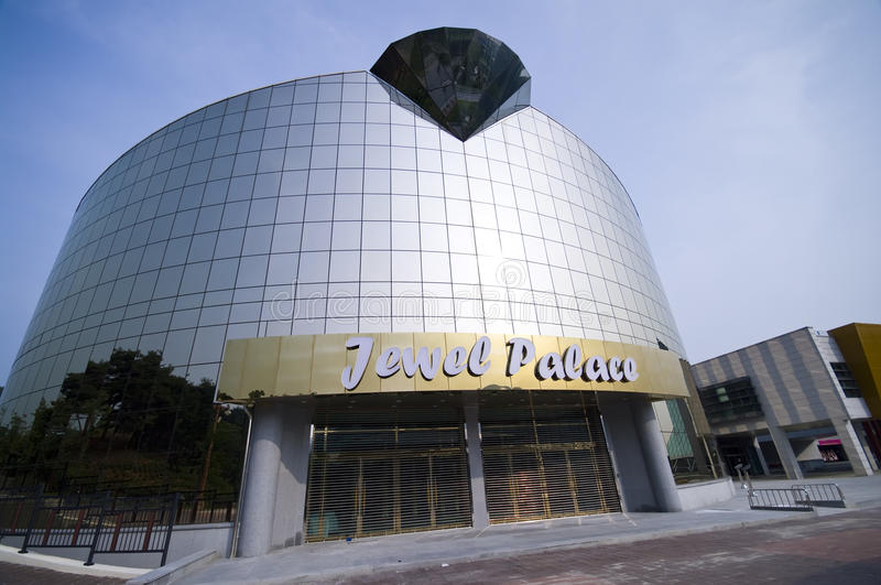 Museu da jóia em Iksan imagens de stock
