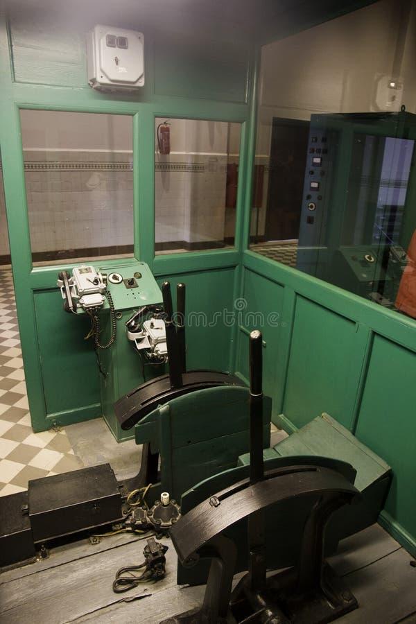 Museu da mina de carvão de Walbrzych imagens de stock