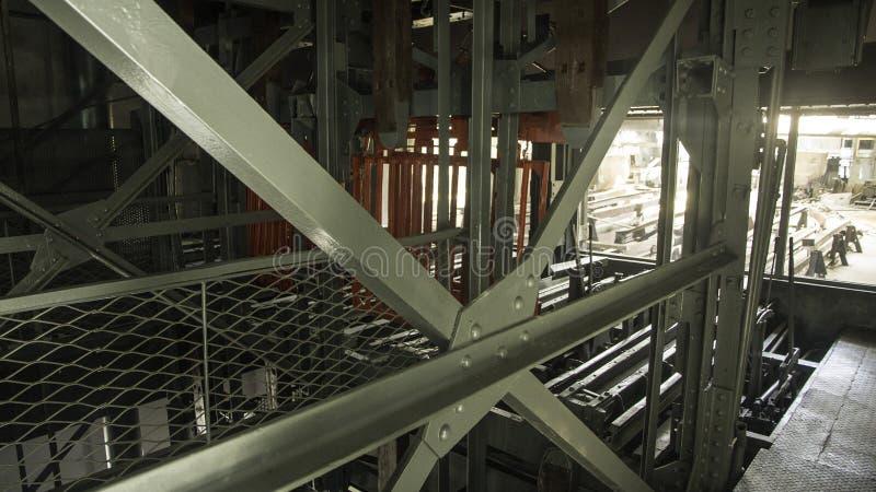 Museu da mina de carvão de Walbrzych foto de stock