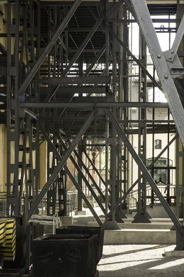 Museu da mina de carvão de Walbrzych imagens de stock royalty free