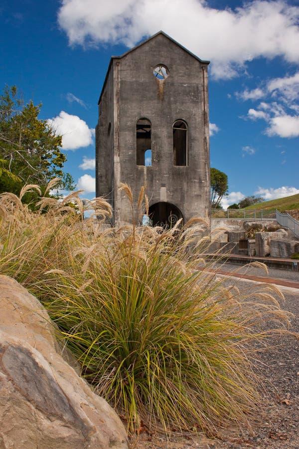 Museu da mina de ouro de Martha em Nova Zelândia fotos de stock royalty free