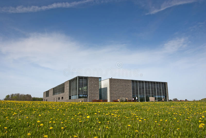 Museu da natureza, Bornholm imagens de stock