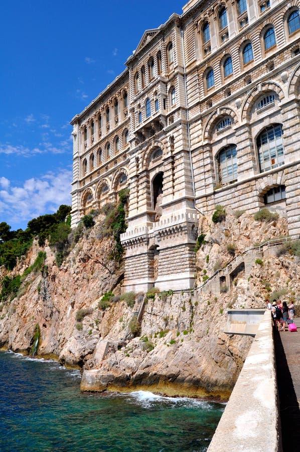Museu da oceanologia, Monte - Carlo fotografia de stock