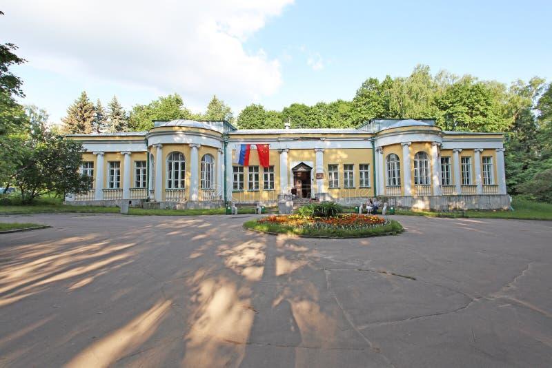 Museu da propriedade de Leninskiye Gorki, região de Moscou imagem de stock