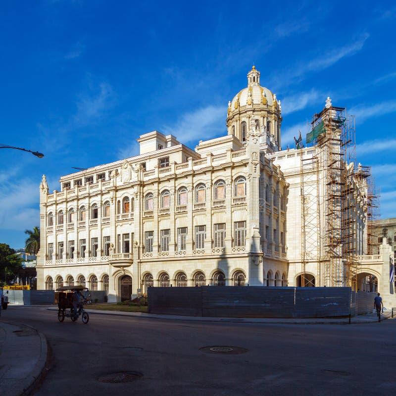 Museu da revolução, palácio da ex-presidente, Havana, Cuba fotos de stock royalty free
