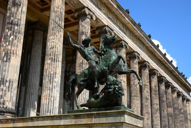 Museu de Altes (agosto Kiß) Berlin Germany, 2014 fotos de stock royalty free