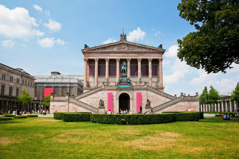 Museu de Altes. Berlim, Alemanha fotos de stock