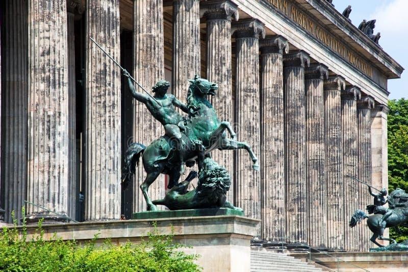 Museu de Altes. Berlim, Alemanha fotografia de stock