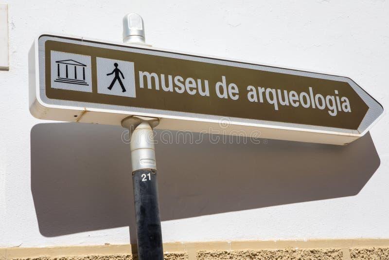 Museu de Arqueologia dans Silves Portugal photo stock