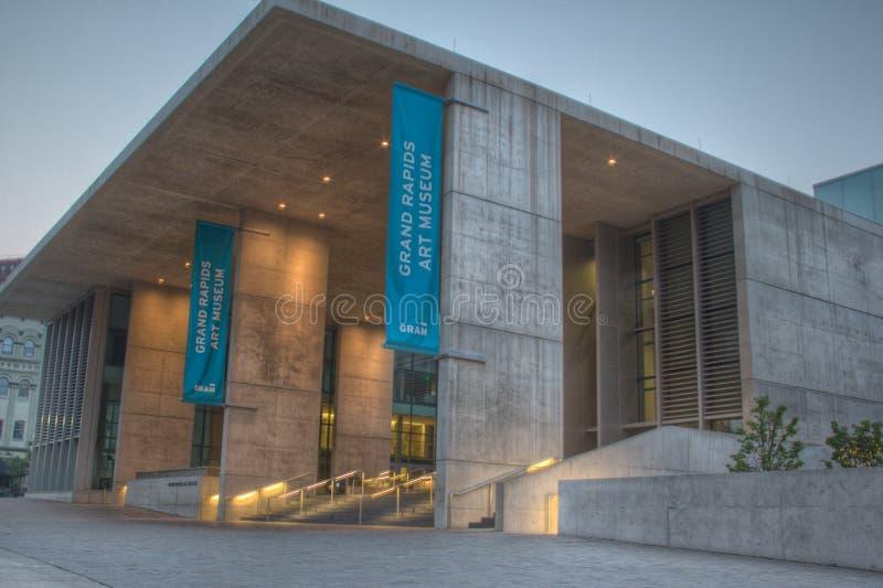 Museu de arte de Grand Rapids fotos de stock