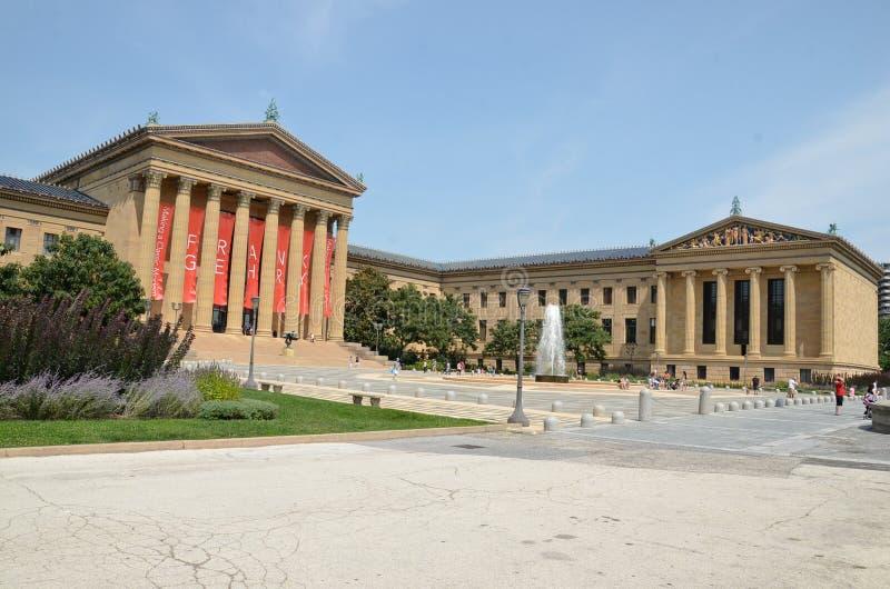 Museu de arte de Philadelphfia fotografia de stock royalty free