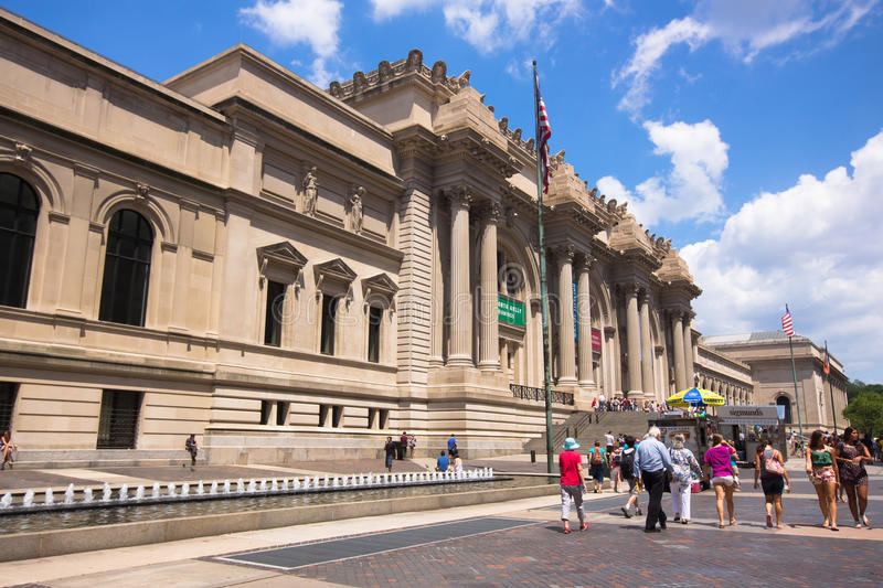 Download Museu De Arte Do Metropolita De NYC Foto Editorial - Imagem de novo, cultural: 26503696