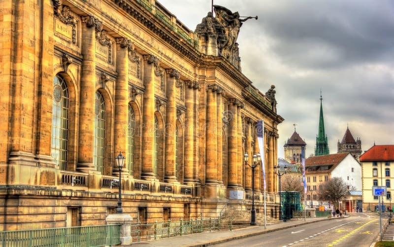 Museu de arte e história em Genebra fotografia de stock