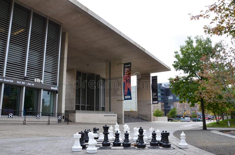 Museu de arte de Grand Rapids imagens de stock royalty free