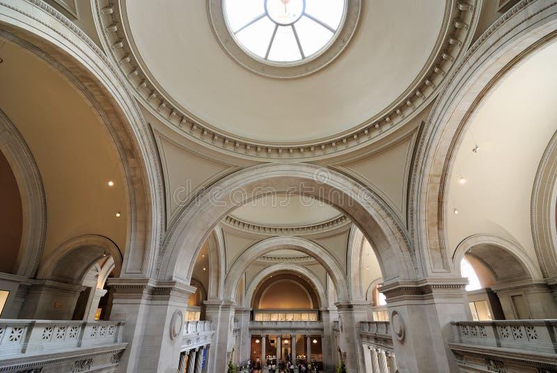 Museu de arte metropolitano fotografia de stock