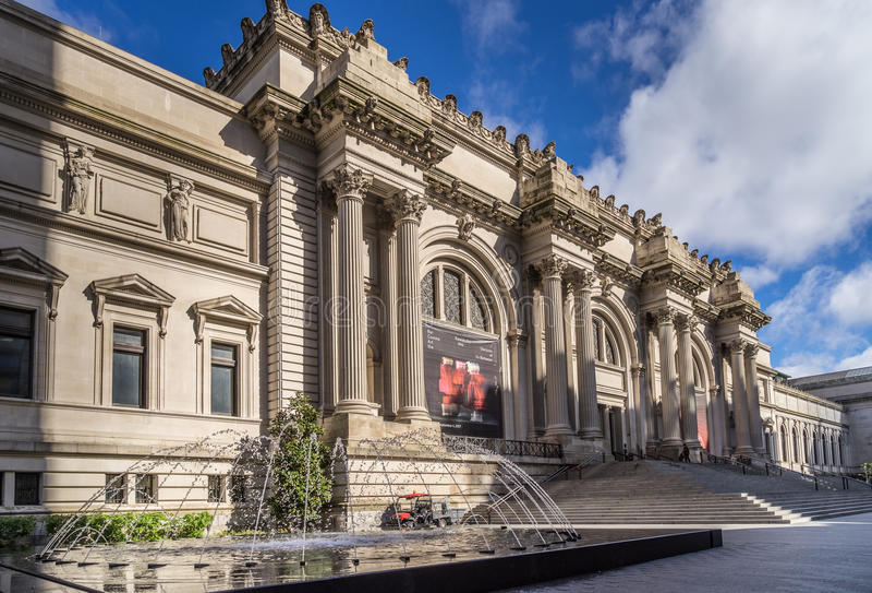 Museu de arte metropolitano foto de stock
