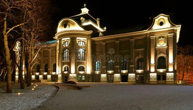 Museu de arte Riga fotos de stock royalty free
