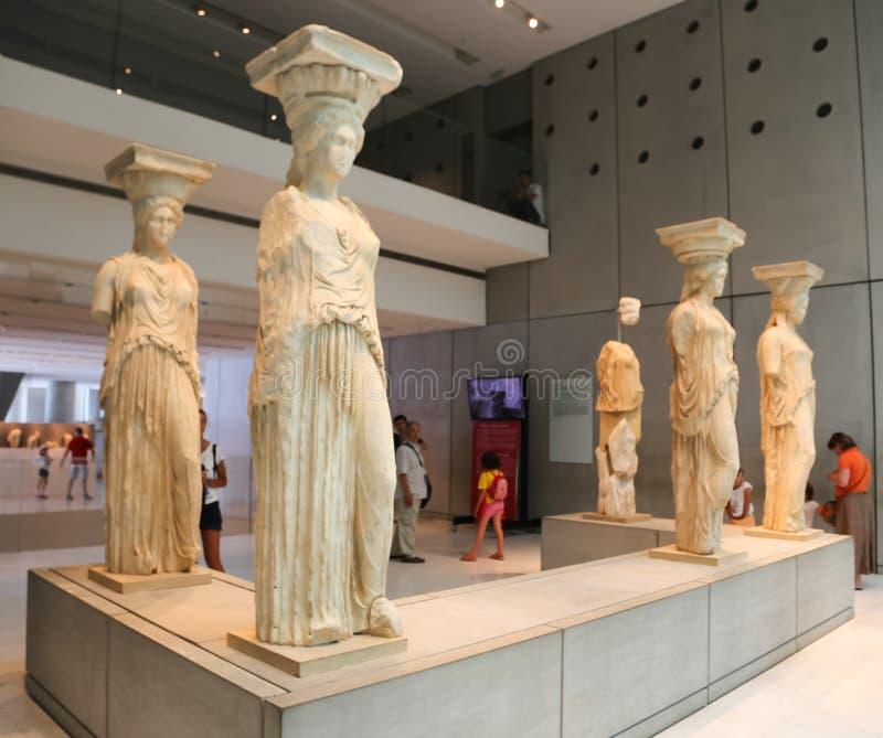 Museu de Atenas, Grécia fotos de stock
