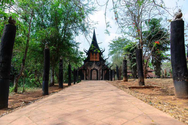 Museu de Baandam em ChiangRai, Tailândia fotografia de stock royalty free
