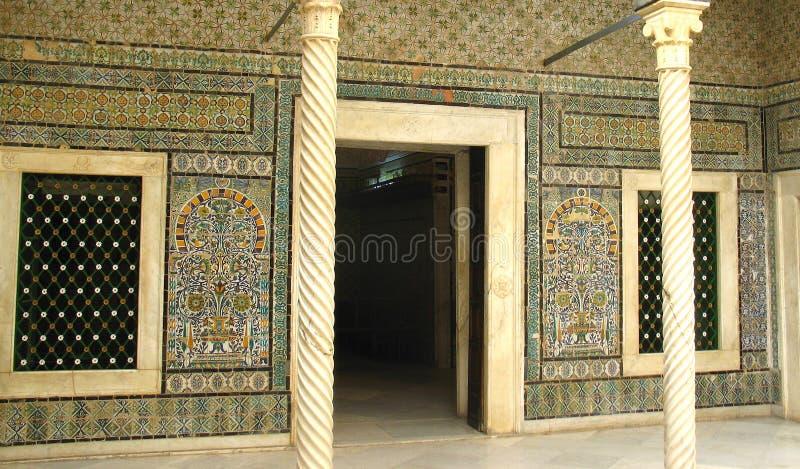 Museu de Bardo, Tunísia imagens de stock