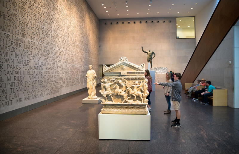 Museu de belas artes, Houston, Texas fotografia de stock