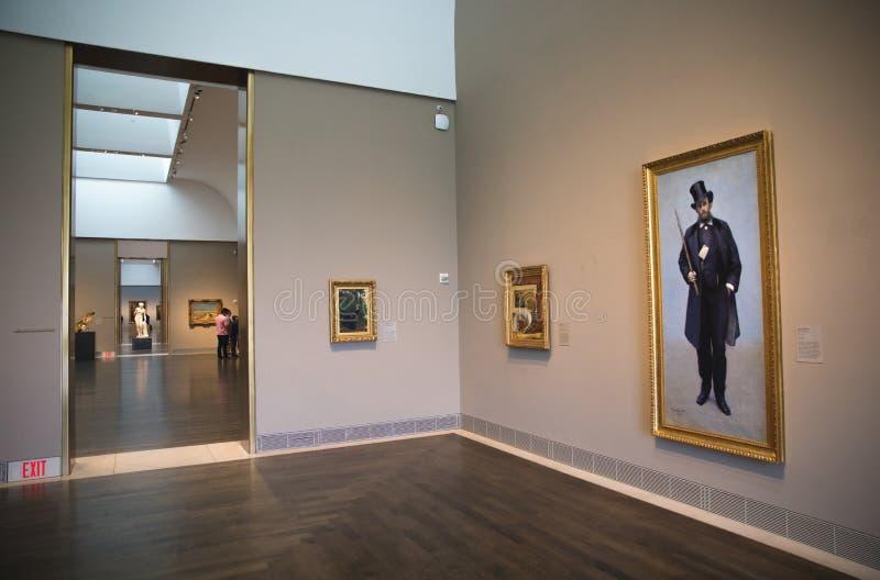 Museu de belas artes, Houston, Texas foto de stock