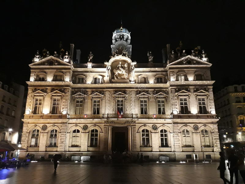 Museu de belas artes Lyon fotos de stock royalty free