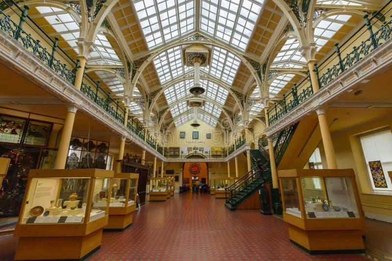 Museu de Birmingham e Art Gallery Indoor D imagem de stock