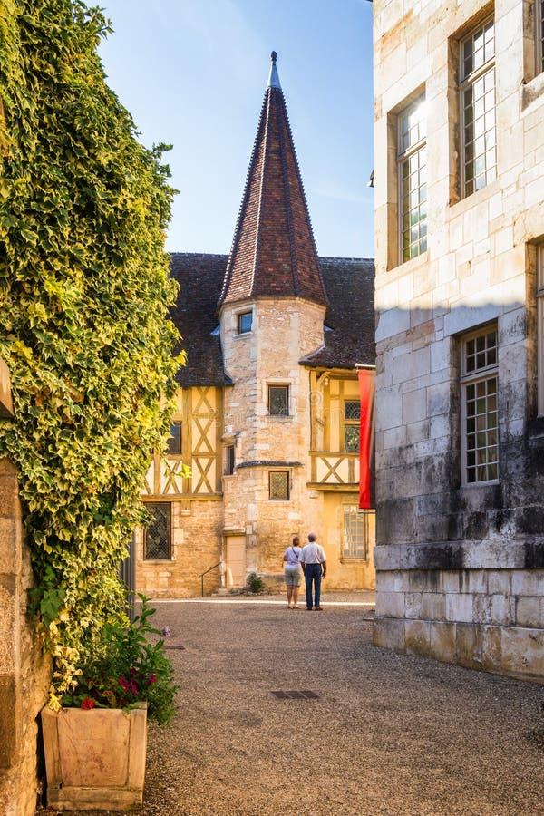 Museu de Borgonha do vinho - Beaune, França fotos de stock royalty free
