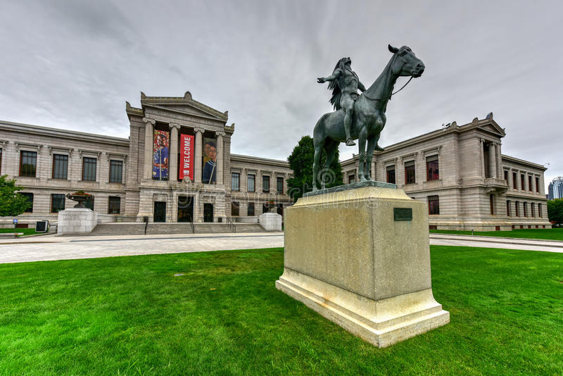 Museu de Boston de belas artes imagem de stock royalty free