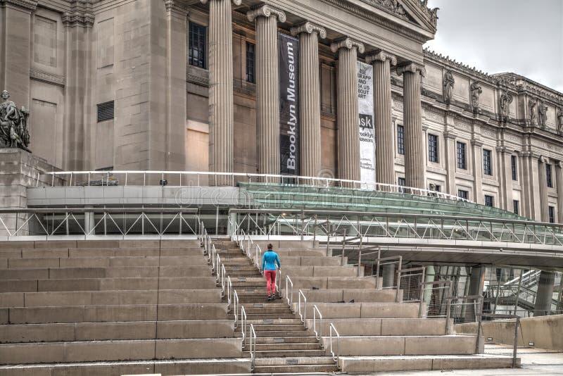 Museu de Brooklyn fotografia de stock royalty free