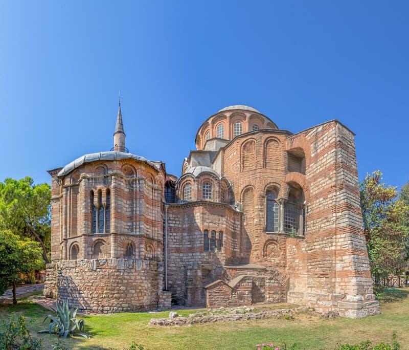 Museu de Chora - igreja em Istambul fotos de stock royalty free