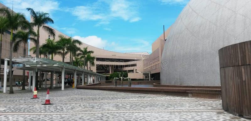 Museu de ciência de Hong Kong fotografia de stock