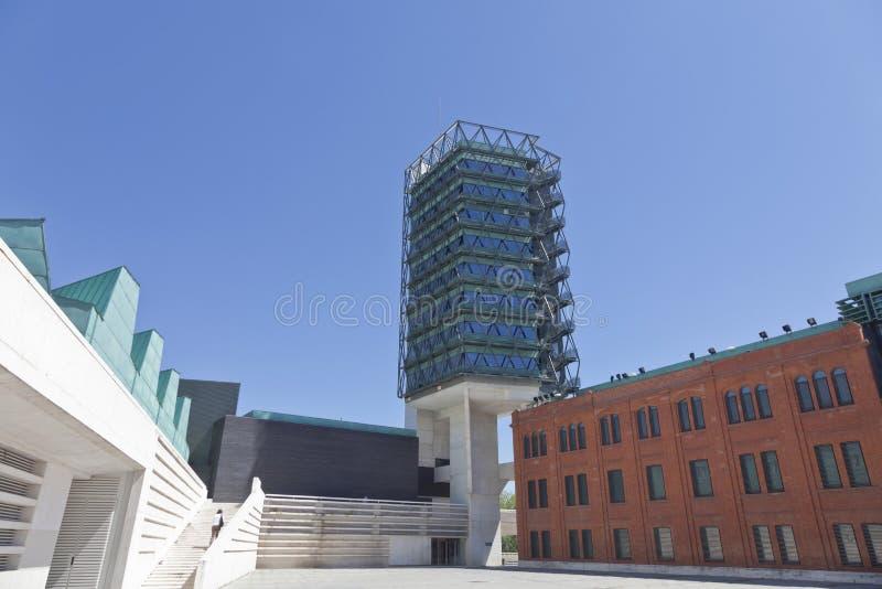 Museu de ciência de Valladolid fotografia de stock royalty free