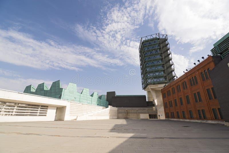 Museu de ciência de Valladolid foto de stock