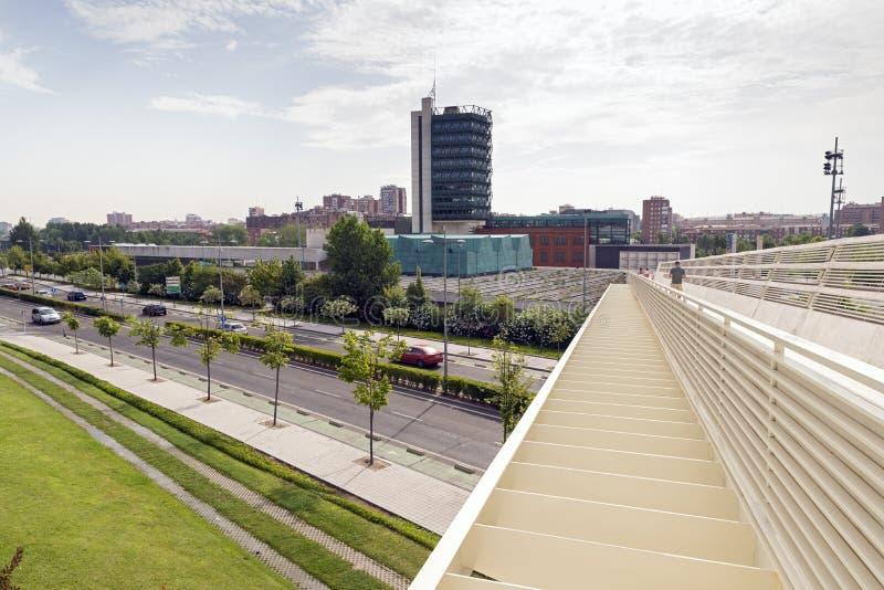 Museu de ciência de Valladolid imagem de stock royalty free