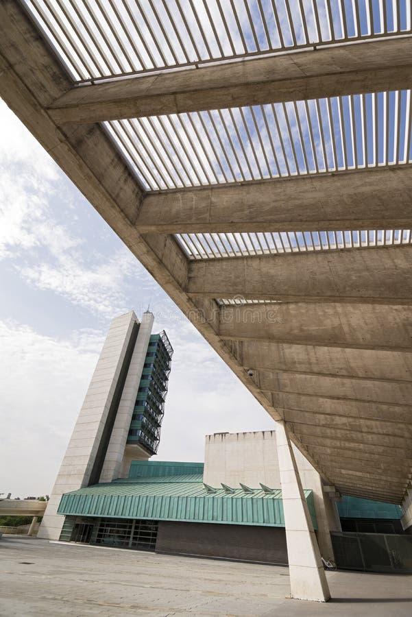 Museu de ciência de Valladolid foto de stock royalty free