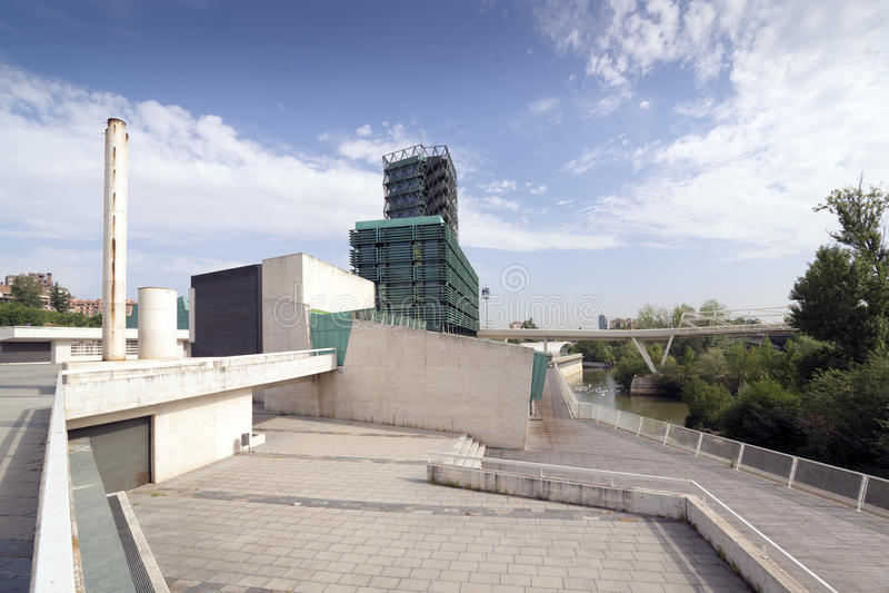 Museu de ciência de Valladolid imagens de stock royalty free